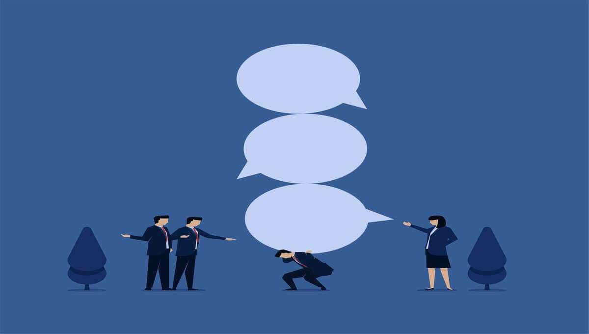 会社で悪口・陰口を言われる人の3つの解決策【結論:言う奴が悪い】