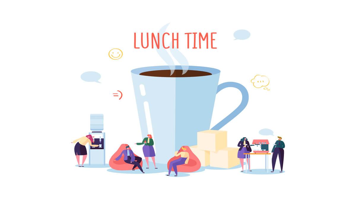 【脱・社畜】会社の昼休みの正しい過ごし方3選【1人で成長しよう】